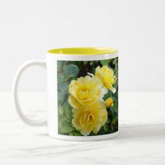 Butter Cream Roses mug