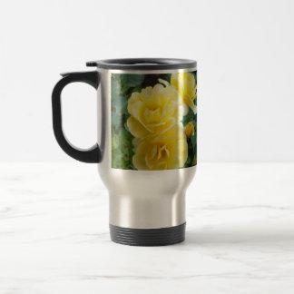Butter Cream Roses travel mug