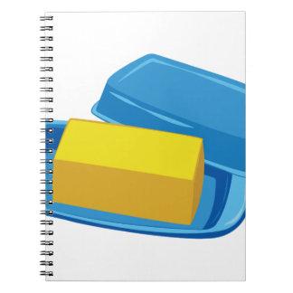 Butter Dish Notebook