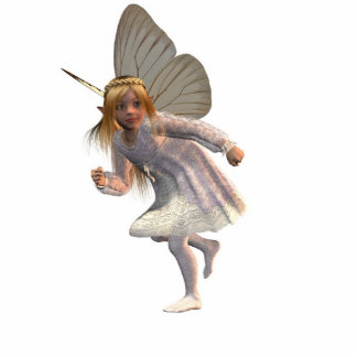 Butter Fairy run Statuette