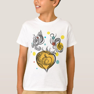 Butter Fly Apple T-Shirt
