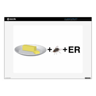 "Butter+Fly+Er Decals For 15"" Laptops"