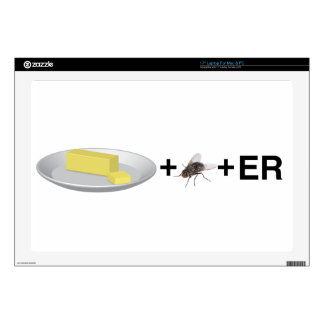 Butter+Fly+Er Laptop Skins