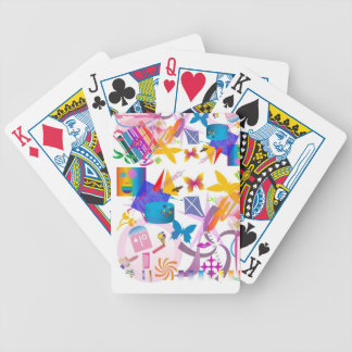 butter fly fun bicycle playing cards