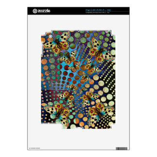 BUTTER;FLY KALEIDOSCOPE DECAL FOR THE iPad 2