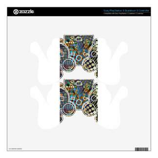 BUTTER;FLY KALEIDOSCOPE PS3 CONTROLLER SKIN