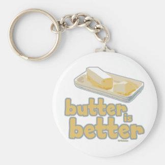 Butter is Better Keychain