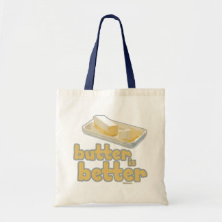 Butter is Better Tote Bags