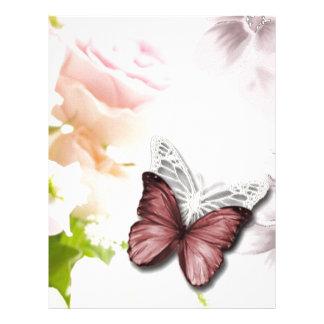 butter jpg color de rosa membrete a diseño