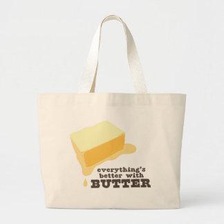 Butter Jumbo Tote Bag
