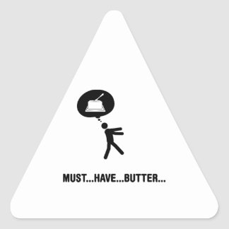 Butter Lover Triangle Sticker