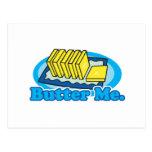 butter me postcard