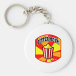 Butter Me Up! Keychains