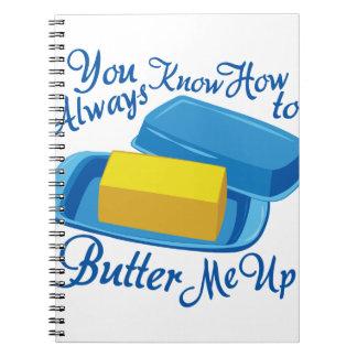 Butter Me Up Notebook