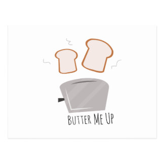 Butter Me Up Postcard