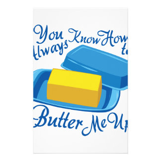 Butter Me Up Stationery