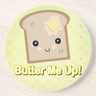 butter me up toast beverage coaster