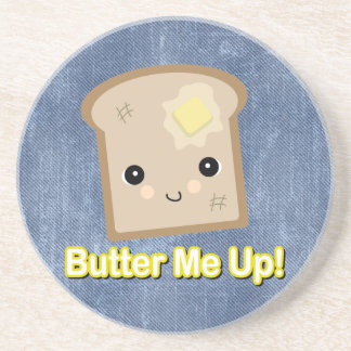 butter me up toast drink coaster
