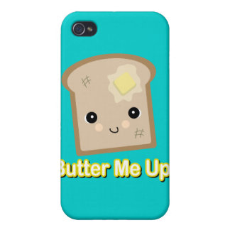 butter me up toast iPhone 4 cases