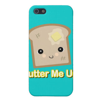 butter me up toast iPhone 5 cases