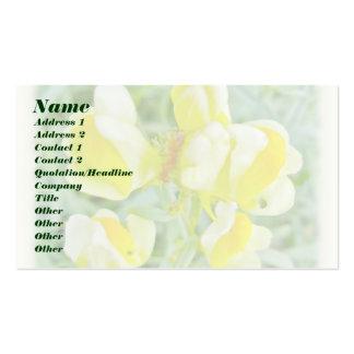 Butter 'n Eggs Wildflower Business Card