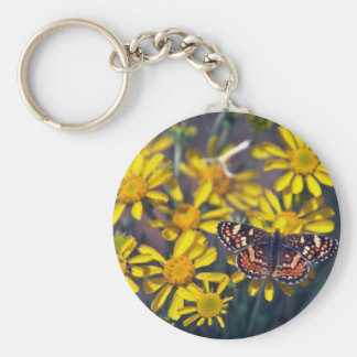 Butter On The Flowers Key Chain