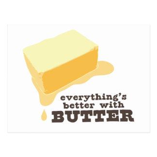 Butter Postcard