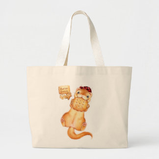 butter scotch ferret large tote bag