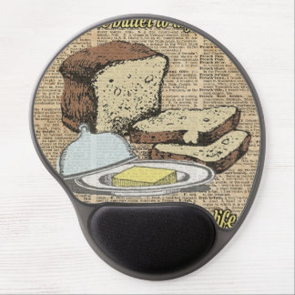 Butter to my bread.. Love Dictionary Art Gel Mouse Pad