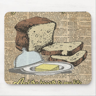 Butter to my bread.. Love Dictionary Art Mouse Pad