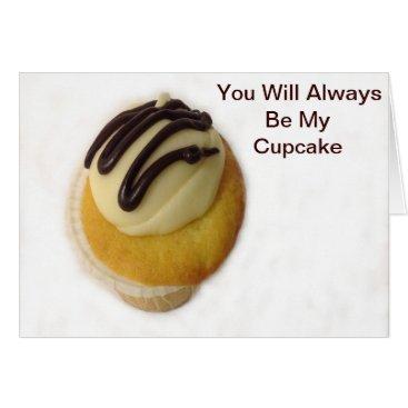 celestesheffey Buttercream Cupcake against a white background Card