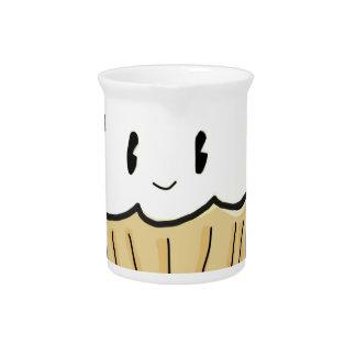 Buttercream Cupcake Beverage Pitchers