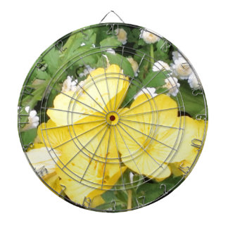 Buttercup and Babies Breath Dart Boards