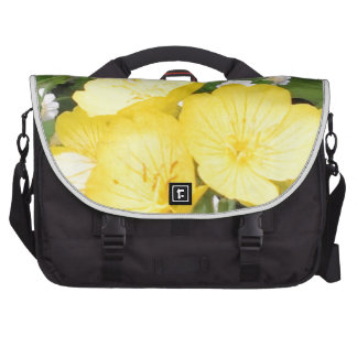 Buttercup and Babies Breath Laptop Messenger Bag
