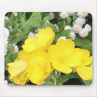 Buttercup and Babies Breath Mouse Pad