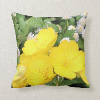 Buttercup and babies breath pillow