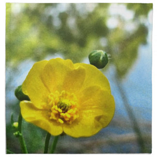 Buttercup at the Pond Cloth Napkin