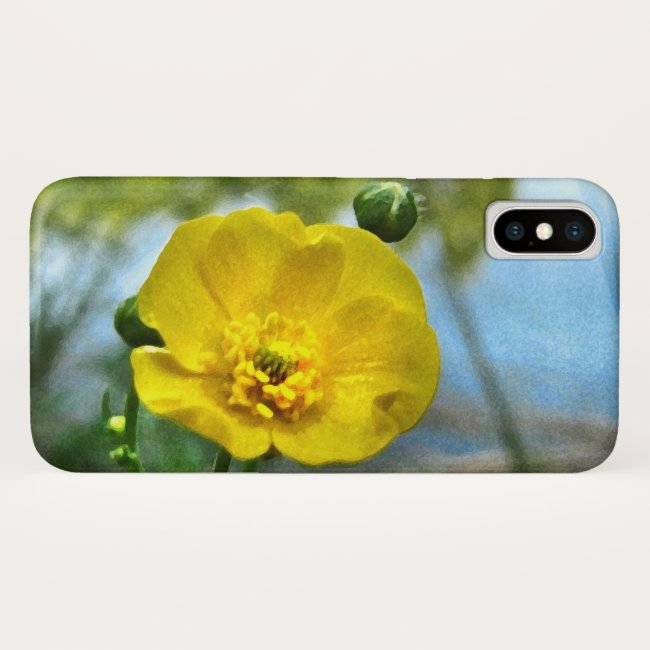 Buttercup at the Pond iPhone X Case