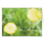 Buttercup Birthday Card