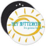 Buttercup - Button Pin