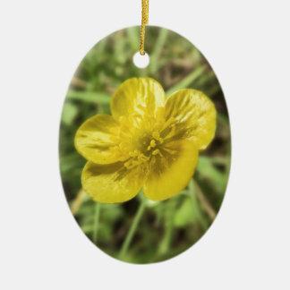 buttercup ceramic ornament