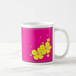 Buttercup Coffee Cup Classic White Coffee Mug