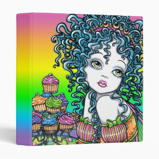"""Buttercup"" Cup Cake Couture Rainbow Fairy Binder"