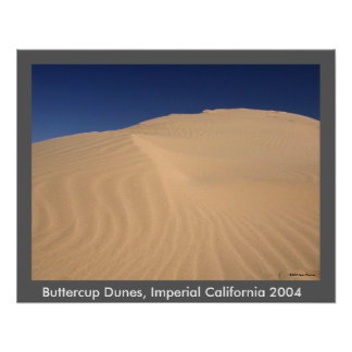 Buttercup Dunes Posters