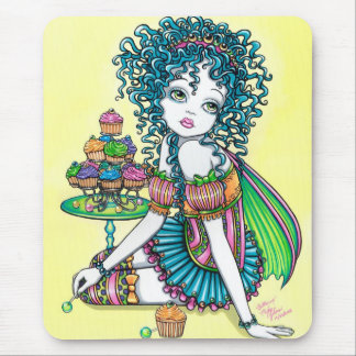 Buttercup Fairy Cup Cake Art Mouspad Mouse Pad