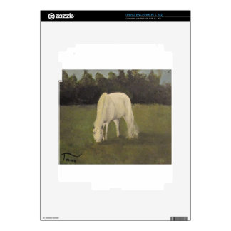 Buttercup grazes in the pasture decals for the iPad 2
