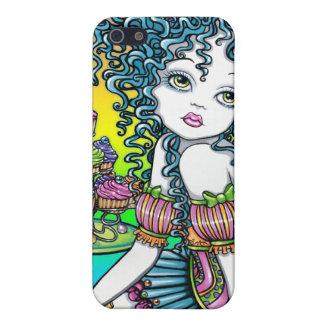 """Buttercup"" Rainbow Cup Cake Fairy IPhone 4 Case"