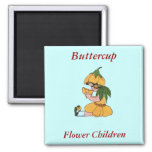 Buttercup Refrigerator Magnets