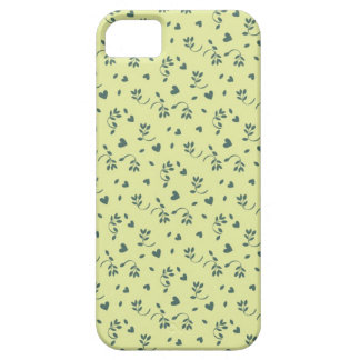Buttercup yellow floral flower buds and hearts iPhone 5 cover