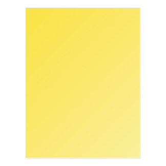 Buttercup yellow gradient greeting card